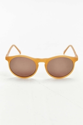 Profound Aesthetics Matte Honey Round Sunglasses