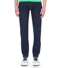 Kenzo Regular Fit Straight Jeans Navy Blue