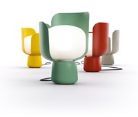 Fontana Arte Fontanaarte Blom Table Lamp