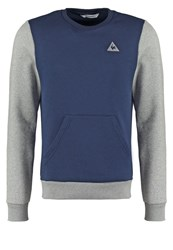 Le Coq Sportif Helior Sweatshirt Dress Blues Light Heather Grey Dark Blue
