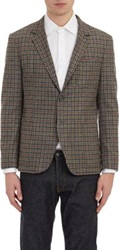Brooklyn Tailors Flannel Two Button Sportcoat Black