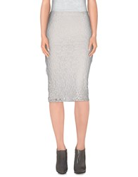 Alpha Studio Skirts 3 4 Length Skirts Women White