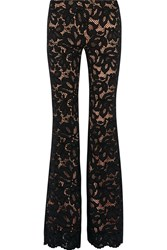 Alexis Lax Corded Lace Flared Pants Black