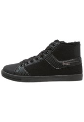 Anna Field Hightop Trainers Black