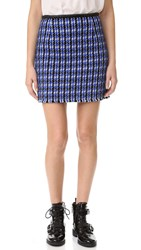 Marc Jacobs Vinyl Skirt Royal Blue