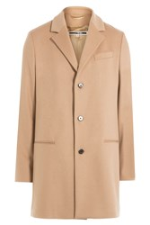 Mcq By Alexander Mcqueen Wool Coat Camel