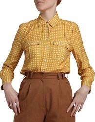 Wray Astral Long Sleeve Blouse Yellow