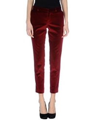 Each X Other Casual Pants Maroon
