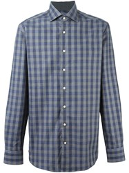 Hackett 'Mayfair Navy Check' Shirt Blue