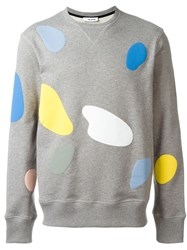 Tim Coppens 'Mushroom Spot' Sweater Grey