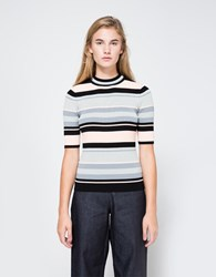 Objects Without Meaning Stripe Rib Tee Dark Stripes