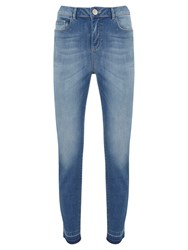 Mint Velvet Rayleigh Light Wash Skinny Jeans Blue