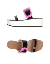 Vicini Tapeet Sandals Black