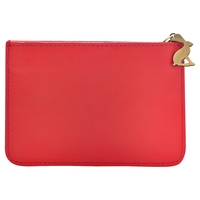 Joules Chancery Leather Coin Purse Peachy Pink