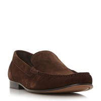 Roland Cartier Racer Moccasin Loafers Brown