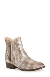 Seychelles Women's 'Lucky Penny' Boot Pewter Leather