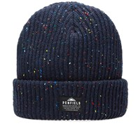 Penfield Harris Fleck Beanie Blue