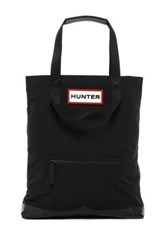 Hunter Original Flat Tote Black