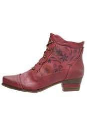 Mustang Ankle Boots Rot Red