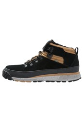 Element Donnelly Laceup Boots Black Curry