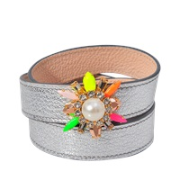 Shourouk Triple Wrap Beedis Bracelet