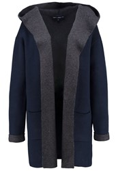 French Connection Cardigan Nocturnal Charcoal Melange Dark Blue
