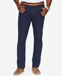 Polo Ralph Lauren Big And Tall Poplin 5 Pocket Pants Navy