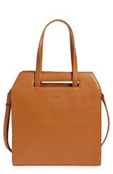 Matt And Nat Mardi Faux Leather Tote Orange Curry