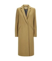 Whistles Classic Overcoat Brown