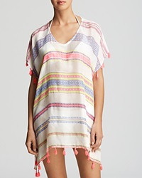 Surf Gypsy Neon Geometric Swim Cover Up Tunic