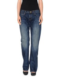 Carhartt Denim Denim Trousers Women