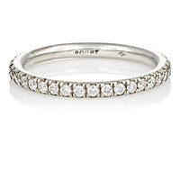 Zoe Women's White Diamond And Platinum Eternity Band No Color