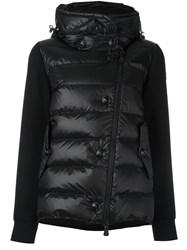 Moncler Grenoble Funnel Neck Padded Jacket Black