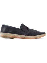 N.D.C. Made By Hand 'Pablo' Loafers Blue