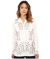 Kas Gabriella Top White Women's Clothing