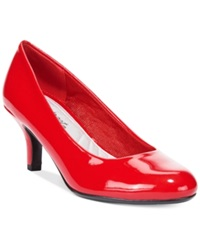 Easy Street Shoes Easy Street Passion Pumps Women's Shoes Bright Red Patent