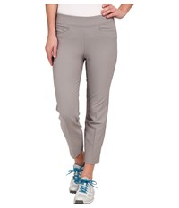 Adidas Essentials Adislim Ankle Length Pant '15 Charcoal Solid Grey Women's Casual Pants Gray