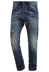 Tom Tailor Denim Conroy Straight Leg Jeans Mid Stone Wash Blue