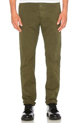 Scotch And Soda Garment Dyed Chino Army