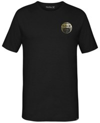 Hurley Men's Graphic Print T Shirt Black