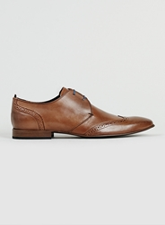 Topman Dune Tan Leather Shoes Brown