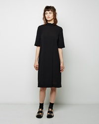 Marni Mock Neck Dress Carbon