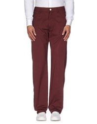 Calvin Klein Jeans Trousers Casual Trousers Men Maroon
