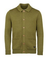 Realm And Empire Made In England Shawl Collar Cardigan Green