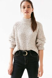 Silence And Noise Silence Noise Easton Turtleneck Sweater Neutral Multi