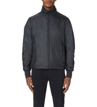Paul Smith Quilted Nylon Track Jacket Navy