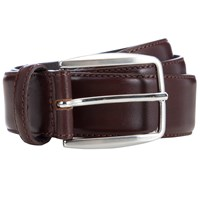 John Lewis Made In Italy Leather Belt Tan