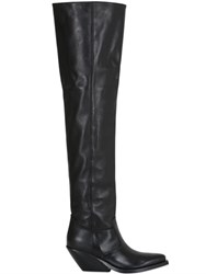 Gaia D'este 70Mm Leather Over The Knee Boots