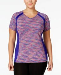 Ideology Plus Size Space Dyed T Shirt Only At Macy's Cosmic Space Dye