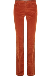 Gucci Stretch Cotton Corduroy Flared Pants
